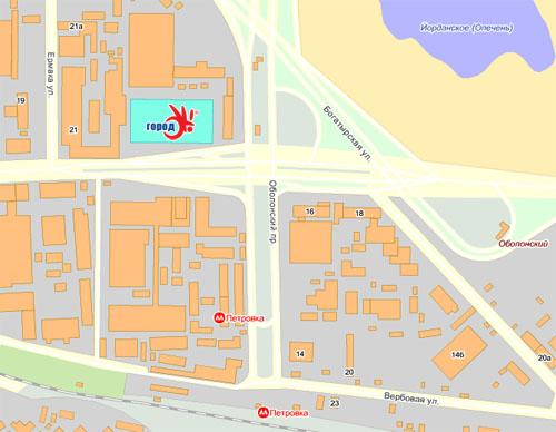 городок карта