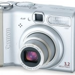 Ремонт об'єктива фотоапаратів Canon PowerShot A510, A520, powershot A521