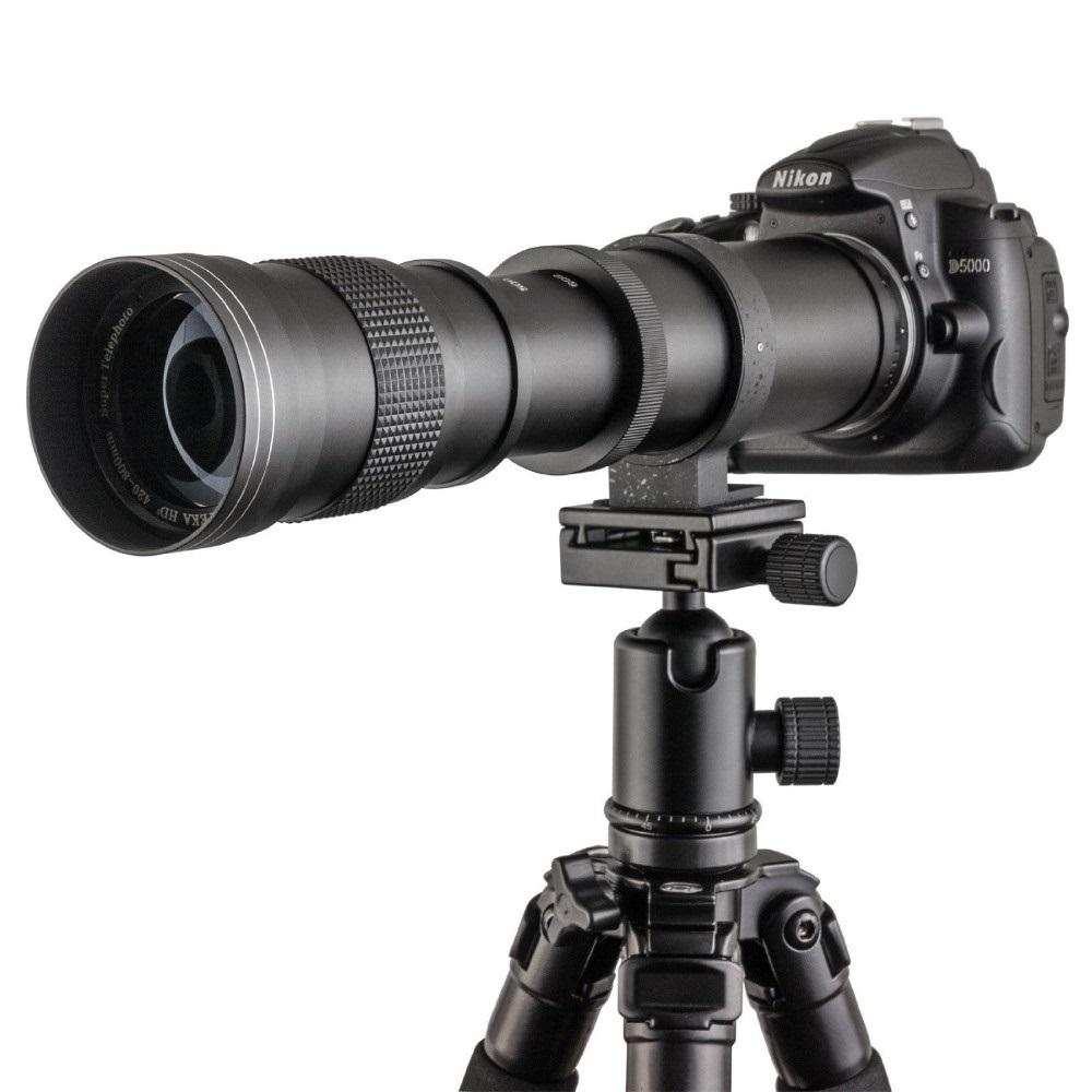 JINTU-420-800-мм-Pro-F-8-3-16-Теле-Телеобъектив-Руководство-для-Nikon-D7100-D80