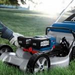 Нова газонокосарка Bosch може працювати від одного або двох акумуляторів