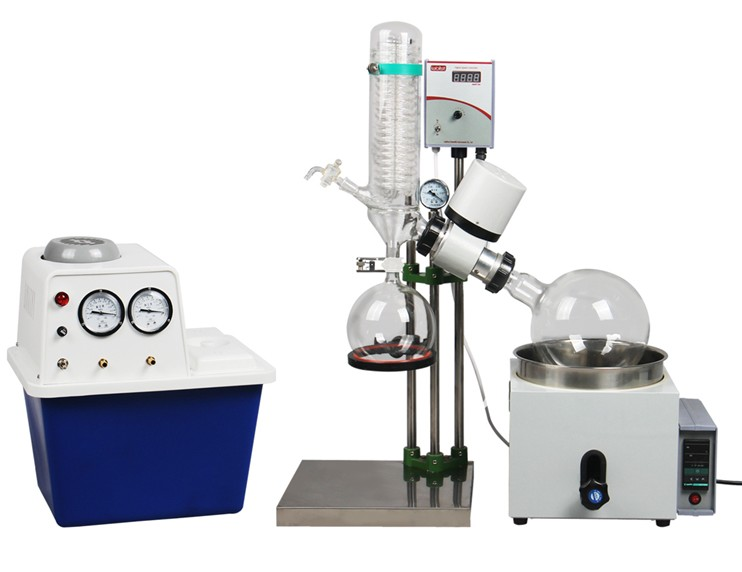 Hand-Lift-Rotary-Evaporator-with-5L-Evaporating-Flask-Water-jet-font-b-Aspirator-b-font-font